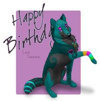 Tyrant Bday Card by Tsaark