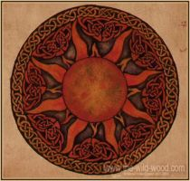 Celtic Sun by WildWoodArtsCo