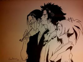 Samurai Champloo by Raptchur