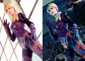 JIll Valentine suit battle by JillStyler