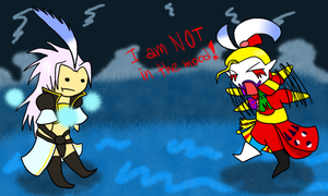 Kefka ain't in the mood by MrTwinklehead