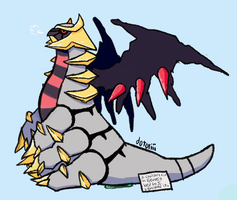 Giratina-shaming by Dotoriii