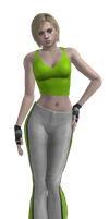 Jill Sport Green - model by Indiana69