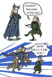 Legolas's Daddy Issues - AVPS style by blackbirdrose