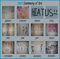 2012 Art Summary by nikkichic109