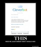 Oh Cleverbot... by PerryTheTeenageGirl