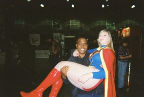 Me and Supergirl by coreybrown1994