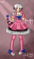 Flaaffy Gijinka by whitty-boo