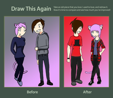 Draw this again meme by Forced-enjoyment