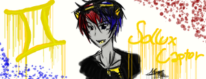 Punk(ish) Sollux Captor (4th time using a tablet) by NorthGuam