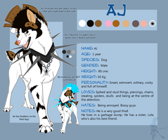 AJ Reference Sheet by faithandfreedom