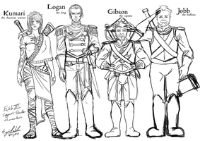 my Fable III fanfic characters by Sigisfeld