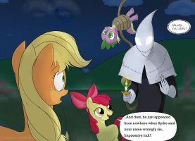 Is Applejack, no Candlejack... by razamatzu