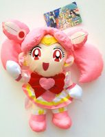Sailor Moon SuperS Banpresto Chibi Moon Plush Set by aleena