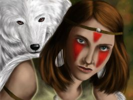 Princess Mononoke by HungryxHungryxHippos