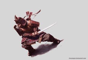 Samurai by freemager