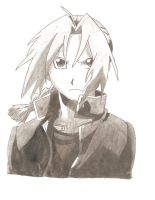 Edward Elric by screwston12