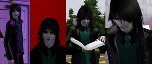 DOWNLOAD - Ulquiorra's Tears for The Sims 3 by JadeLune