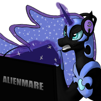 Nightmare Gamer (Gamer Moon) by IllusiveElusive