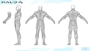 Halo 4 Under Armor Concept by gibsonmo