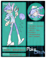 .::POKE-GLITCH-Remy Brookes::. by HamAndDonuts
