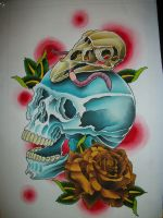 for the love of skulls by TattoosByLurch