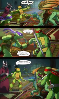 TMNT: Dragons Rising Pg 09 by JazzTheTiger