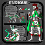 Enrique Ref sheet by MiffedMongoose