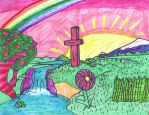Christian Rainbow Artwork by SonicClone