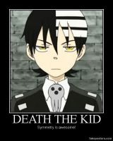 Death the Kid Demotivational by Onikage108