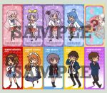 Lucky Star and Haruhi Bookmark by superdonut