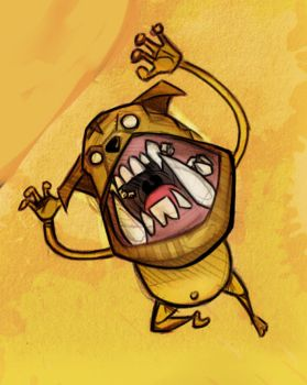 Jake the dog by GuilleJoK
