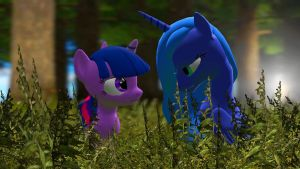 Twiluna: Out in the daytime by Legoguy9875