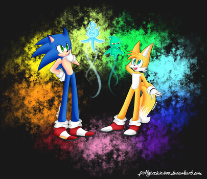 Sonic Colors by PuffyCookie
