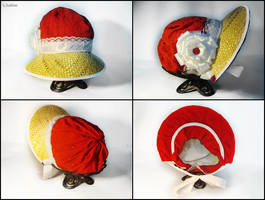 Regency bonnet 4 by L-Justine