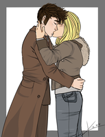 Ten and Rose by gryphonslade