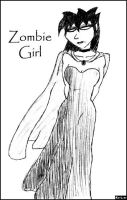 Zombie Girl by jimnorth