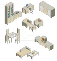 room furnitures by andifitriyanto