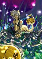 Dothack GU -Haseo Halloween- by crocell