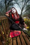 Birds of Truth - Geisha Assassin @ Kitacon 2014 by faramon