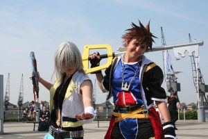 Sora and Riku -MCM May Expo 08 by KellyJane