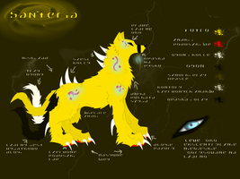 Santeria char sheet 1.0 by SweetDeathWolf