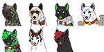 Christmas Icons Batch #2 by demonwolf1999