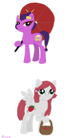 G4'd Ponies Set 1 by sprinklestar
