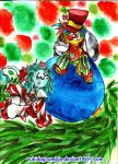 The Holly and the Ivy by yukidogzombie