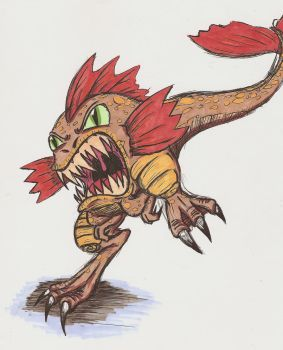 Phamtus the P-Rex by bloodbootie