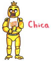 Chica by YouCanDrawIt