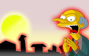 simpsons wallpaper by cresh0r