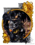 Batman and Catwoman Commission by JadeX9980