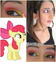 Applebloom Makeup by MishMreow